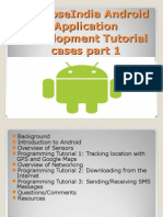 SynapseIndia Android Application Development Tutorial Cases Part 1