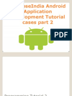SynapseIndia Android Application Development Tutorial Cases Part 2