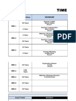 TIMETABL Fall 201sasd5 10 Aug Revised2