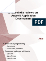 SynapseIndia Reviews on Android Application Development