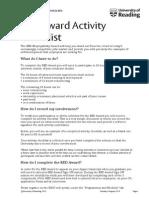 Activity Checklist 4