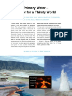 Review of Primary Water for a Thirsty World by Greg O'Neill