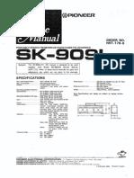 Pioneer Sk 909l
