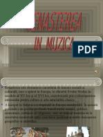 Renasterea in Muzica