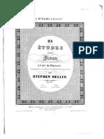 SHeller 25 Etudes Op.45 BNE