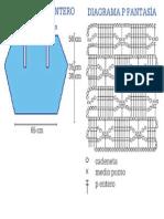 Diagrama Bolero TEJIDO