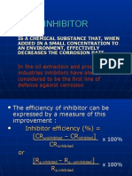 Inhibitor Corrosion