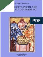 Oronzo Giordano - Religiosità popolare nell'alto medioevo