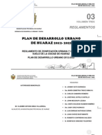 Volumen 03 Reglamentos PDU Hz. 2012