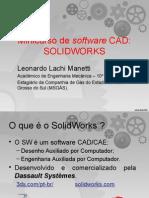 Minicurso de Software CAD