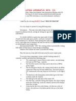 Bod Incubator Manual
