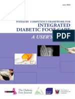 The Podiatry Integrated Career and Competency Framework for Diabetes Foot Care - TRIEPodD-UK_May 2012