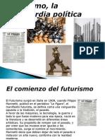 Futurismo, La Vanguardia Política