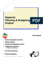 Hyperion Training Ppt