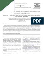 Effects of Antidepressant Esel Ertugrul 2005