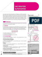 Sources Autonomes