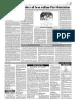 History of Goan Culture