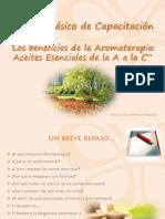 Módulo Los Beneficios de La Aromaterapia-AE a a C