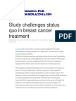 Dr. Frank Talamantes, Ph.D. - Study challenges status quo in breast cancer treatment (JAMA Oncology).pdf