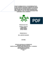 Informe 2 Granulometria, Cuarteo, Humedad