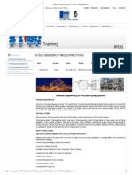 Detailed Engineering of Process Piping Systems