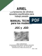 Manual técnico para modelos JGC Y JGD