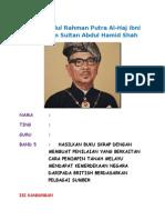 Folio Tunku Abdul Rahman