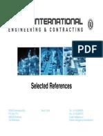 Gemco International Reference List EC 2014 Rev 6