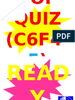 POP QUIZ C6F4-5