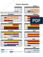 MClass Progress Monitoring Calendar