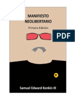 Manifiesto Neolibertario - Samuel Konkin III