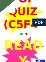 POP QUIZ C5F4-4