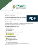 Cuestionario Exposiciones