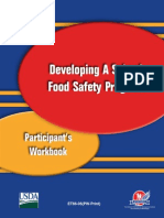 Developing a School Food Safety Program Participants' Work Book