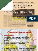 Crisis Del 29 en Chile