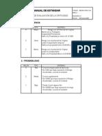 Checklist Procedimiento