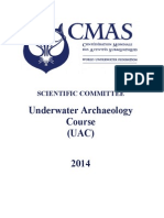 CMAS Underwater Archaeology Course