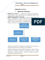 perfil del proyecto