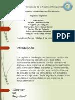 Sistemas Digitales Registros