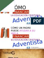 4 Como Financiar La Educacion Adventista
