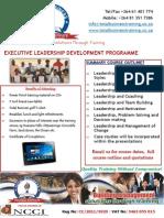Executive Leadership Advert