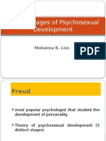 Freud's Stages of Psychosexual Development