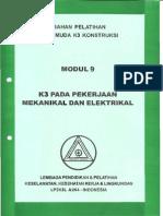 K3 Pada Pekerjaan Mekanikal Dan Elektrikal