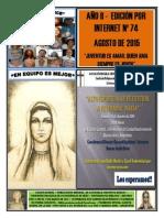 Gaceta Juvenil Ecb Nº 74 - Agosto 2015