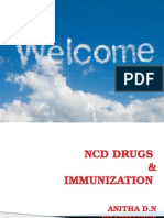 Ncd Drugs & Immnunisation