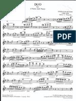 Busoni Duo 1.Flötenstimme