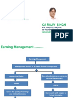 Earning Management