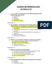 Cuestionario de Dermatología