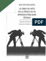 la obra de arte en la epoca desu reproductibilidad tecnica W. Benjamin.pdf