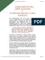 EL FLORECIMIENTO DEL ÁRBOL SAGRADO Y EL SIGNIFICADO DE LA PIPA SAGRADA